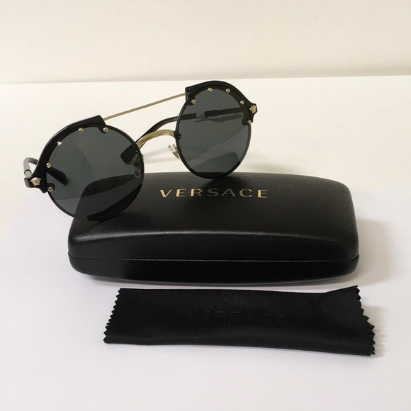 427a776e00 Versace VE4337 Round Sunglasses. Listing Price   140.00
